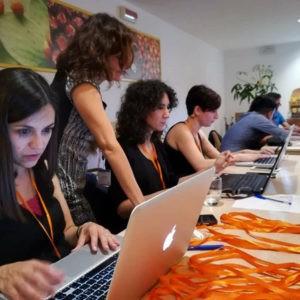 Ricercatori analizzano i dati del supercalcolatore al CMCC - Centro Euro Mediterraneo sui Cambiamenti Climatici